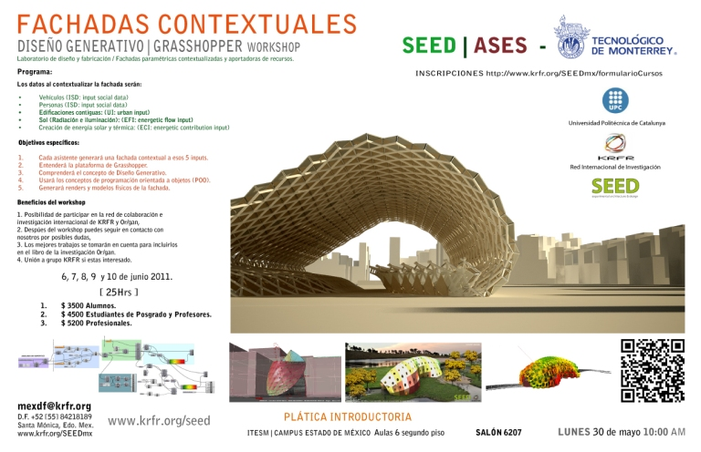 GRASSHOPPER Workshop - Fachadas Contextuales SEED | ASES_ITESM_CEM