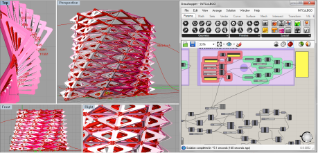 Generative Objects | Grasshopper scripting | Introduction to Digital Fabrication.